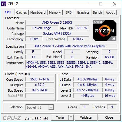 Testissä AMD Ryzen 5 2400G & Ryzen 3 2200G (Raven Ridge