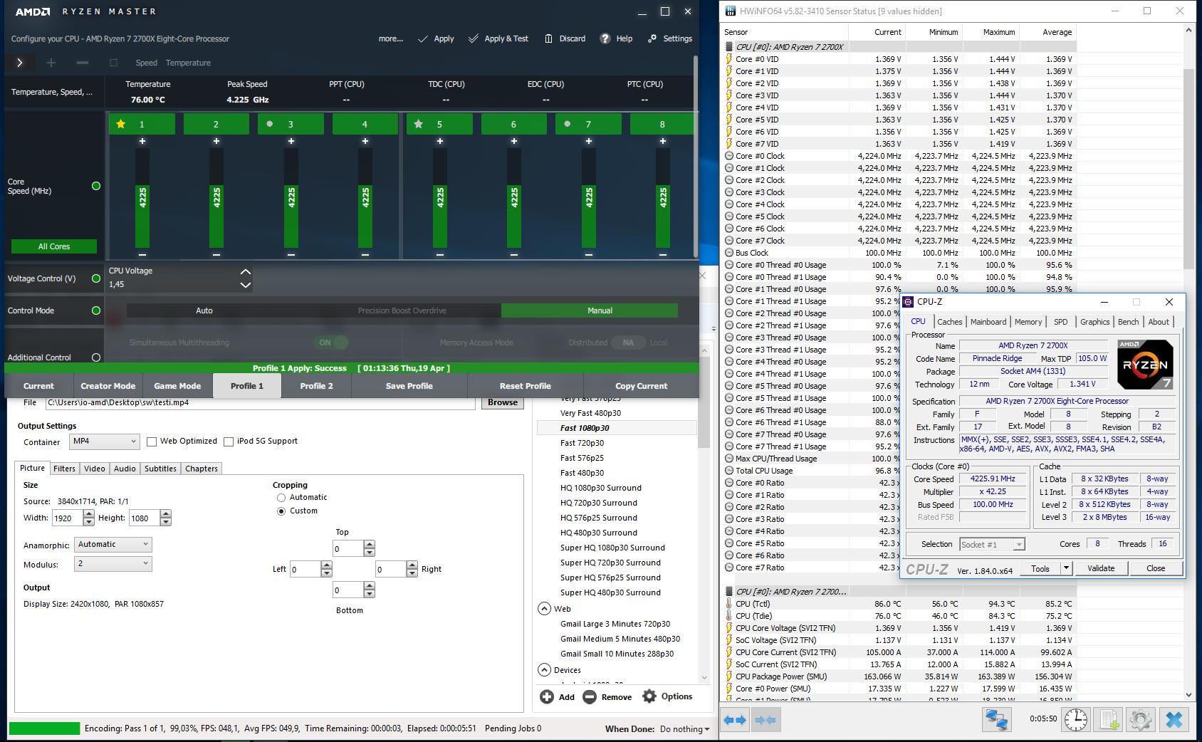 Testissä AMD Ryzen 7 2700X & Ryzen 5 2600X (Pinnacle Ridge) - io-tech fi