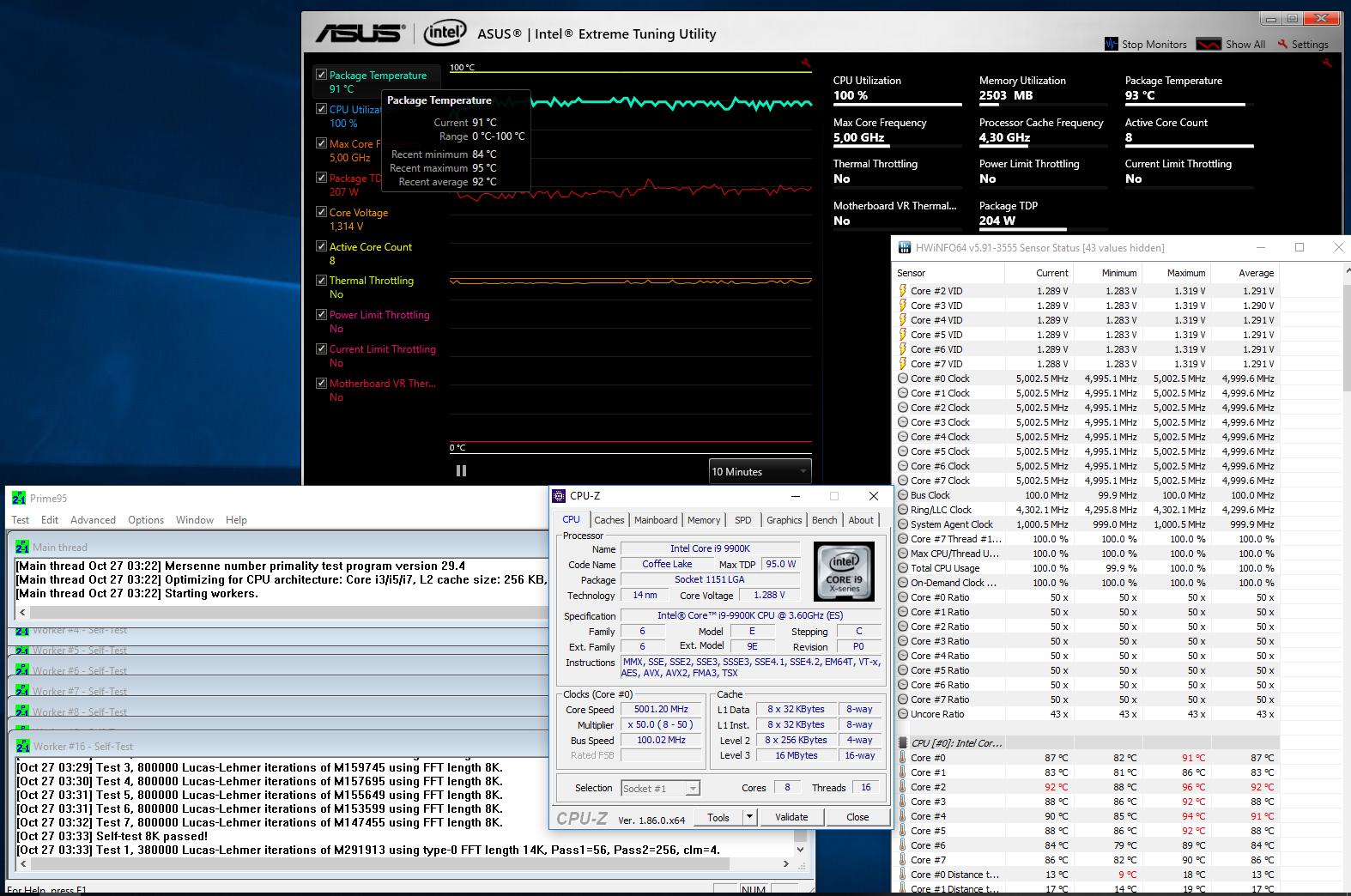 Testissä Intel Core i9-9900K & Core i7-9700K - io-tech fi