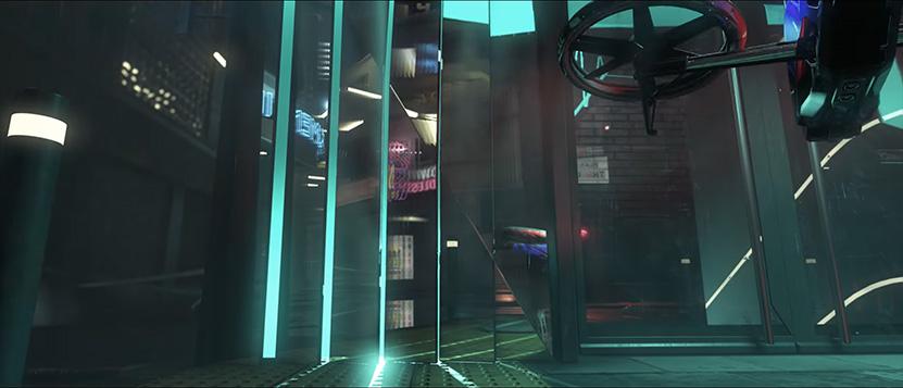 Crytek's Neon Noir Demo Real-time radiation monitoring